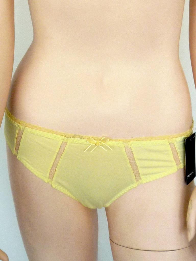 Klasické kalhotky CHANGE Sikita Tai žluté - 38