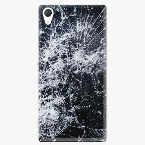 Plastový kryt iSaprio - Cracked - Sony Xperia Z2