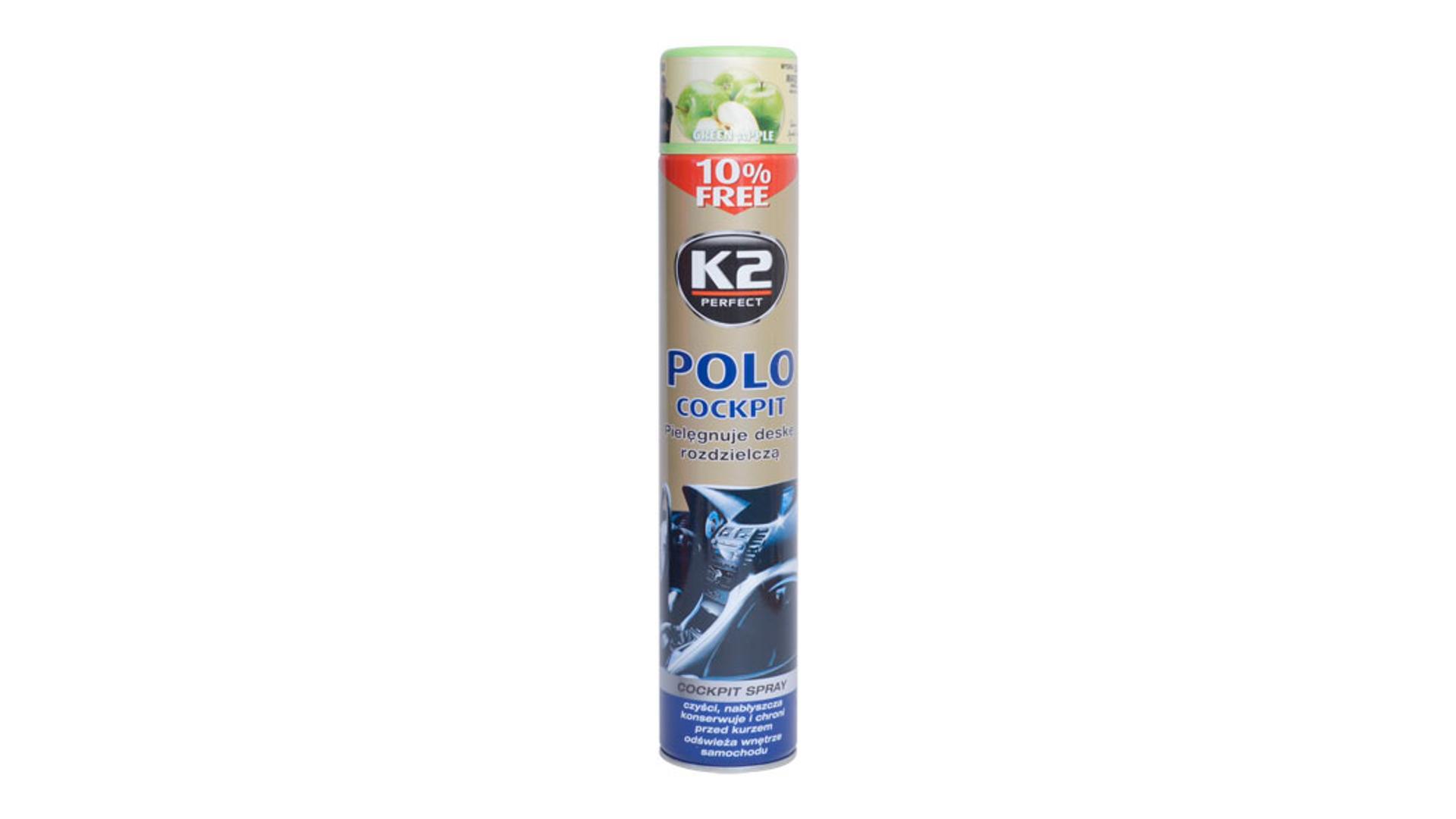 K2 POLO COCKPIT 750ml GREEN APPLE - ochrana vnitřních plastů