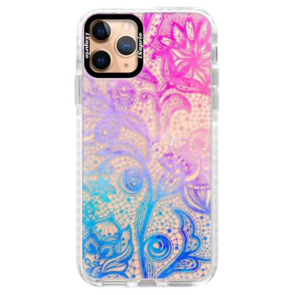 Silikonové pouzdro Bumper iSaprio - Color Lace - iPhone 11 Pro