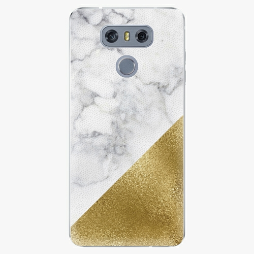 Plastový kryt iSaprio - Gold and WH Marble - LG G6 (H870)