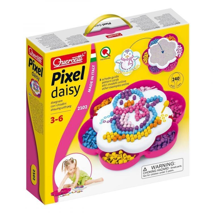 Quercetti Pixel Daisy 10 mm 150 ks