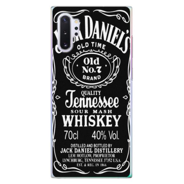 Plastové pouzdro iSaprio - Jack Daniels - Samsung Galaxy Note 10+