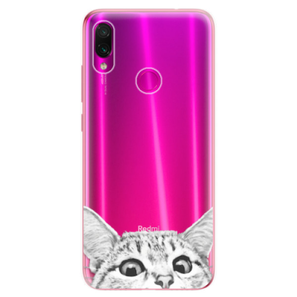 Odolné silikonové pouzdro iSaprio - Cat 02 - Xiaomi Redmi Note 7