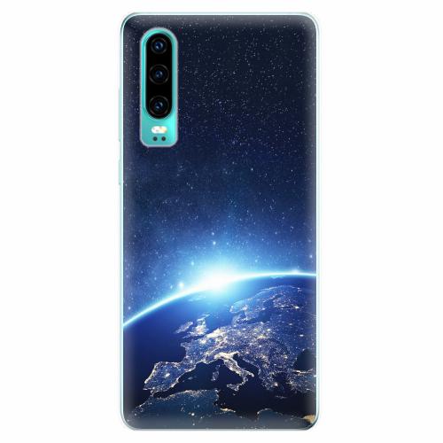 Silikonové pouzdro iSaprio - Earth at Night - Huawei P30