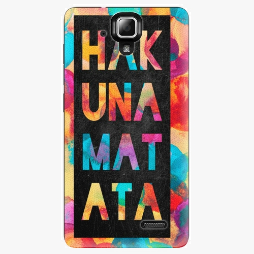 Plastový kryt iSaprio - Hakuna Matata 01 - Lenovo A536