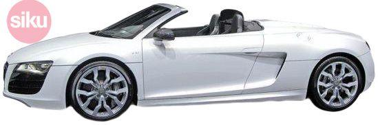 SIKU Auto Audi A8 Spyder Cabriolet na blistru 8 cm KOV