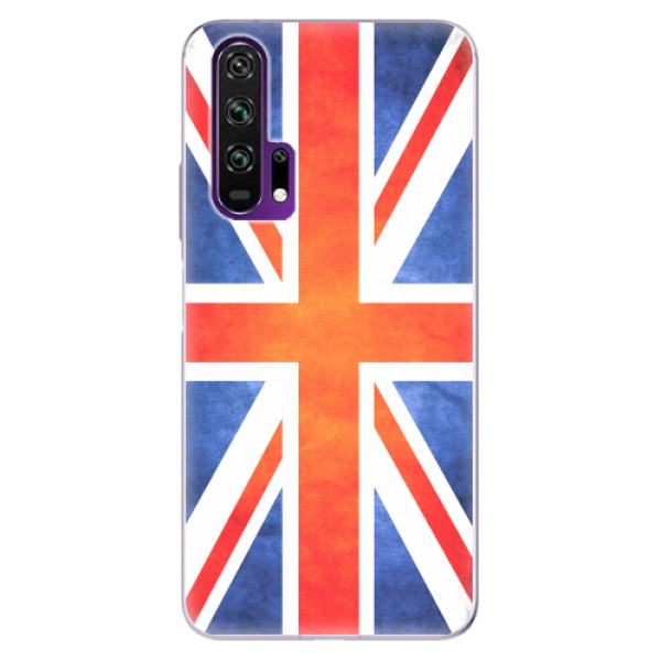 Odolné silikonové pouzdro iSaprio - UK Flag - Honor 20 Pro