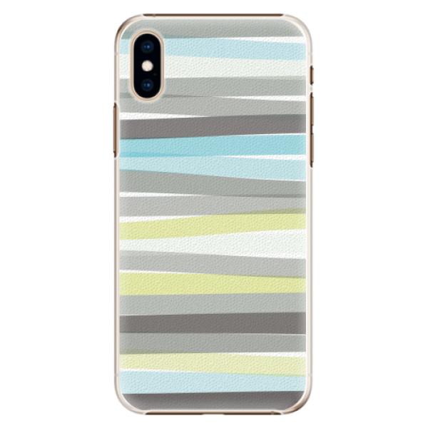 Plastové pouzdro iSaprio - Stripes - iPhone XS