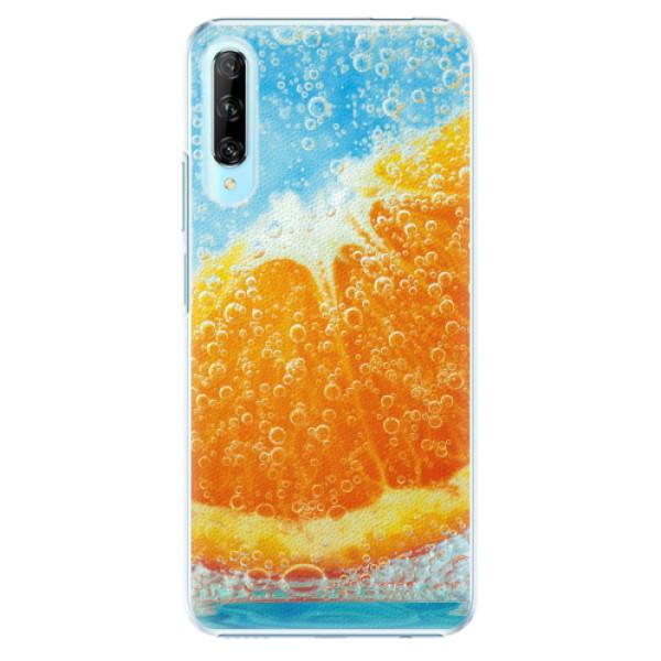Plastové pouzdro iSaprio - Orange Water - Huawei P Smart Pro