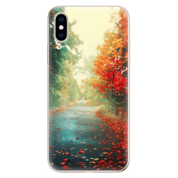 Odolné silikonové pouzdro iSaprio - Autumn 03 - iPhone XS