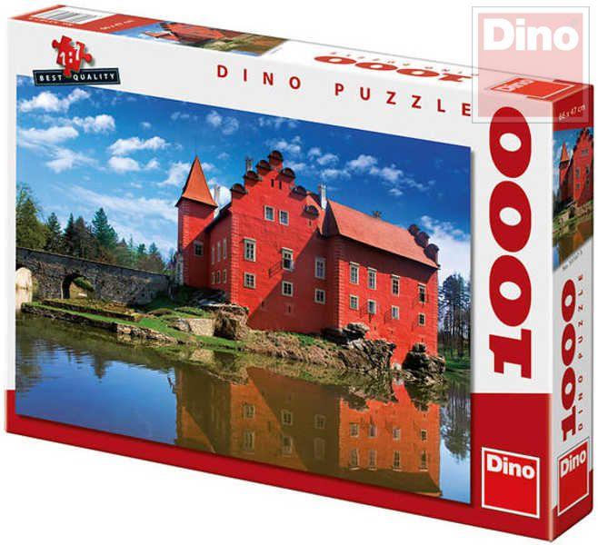 DINO Puzzle1000 dílků Zámek Červená Lhota