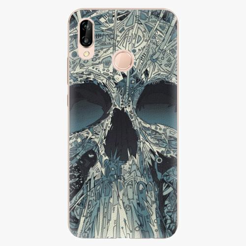 Plastový kryt iSaprio - Abstract Skull - Huawei P20 Lite