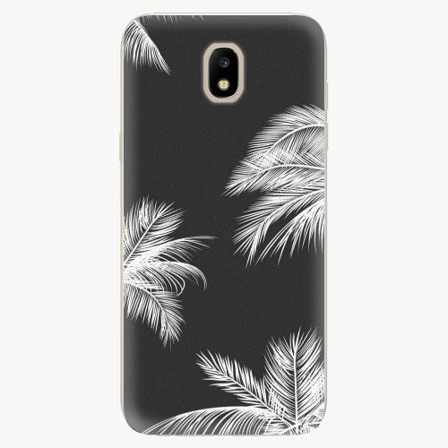 Silikonové pouzdro iSaprio - White Palm - Samsung Galaxy J5 2017