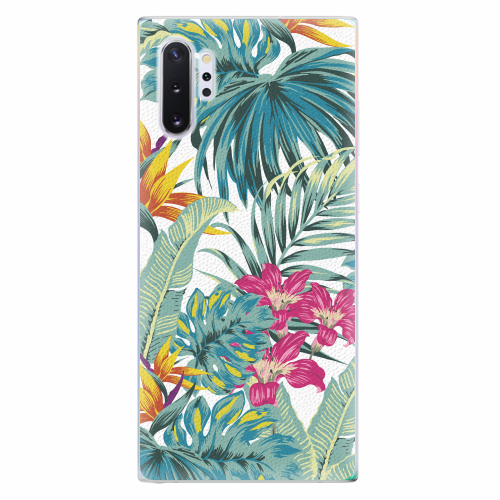 Silikonové pouzdro iSaprio - Tropical White 03 - Samsung Galaxy Note 10+