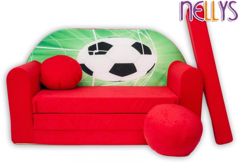 nellys-rozkladaci-detska-pohovka-36r-fotbal-v-cervene