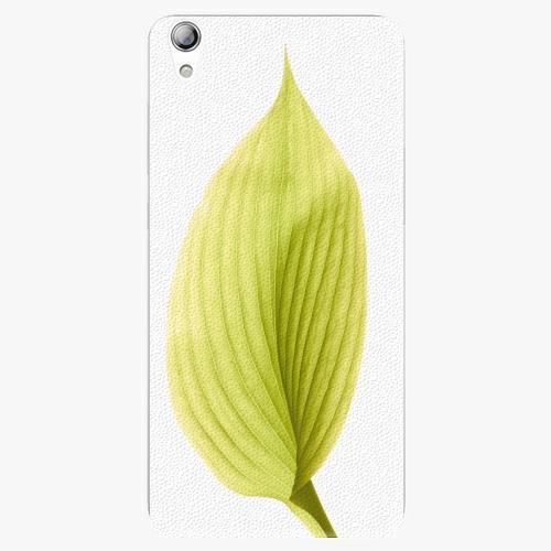 Plastový kryt iSaprio - Green Leaf - Lenovo S850