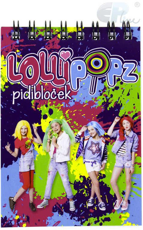 EP Line zápisník A7 Lollipopz dětský pidi bloček
