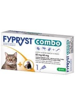 Fypryst combo spot-on 50/60mg kočka a fretka 1 pip