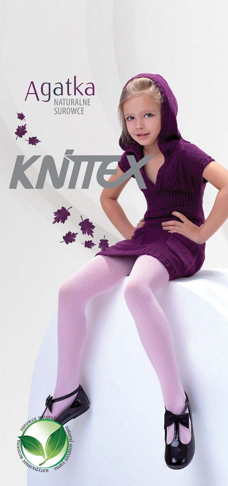 Dívčí punčochové kalhoty Agatka - Knittex