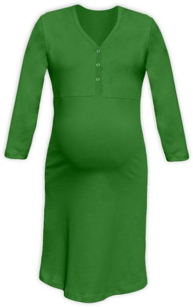 jozanek-tehotenska-kojici-nocni-kosile-pavla-3-4-zelena-l-xl