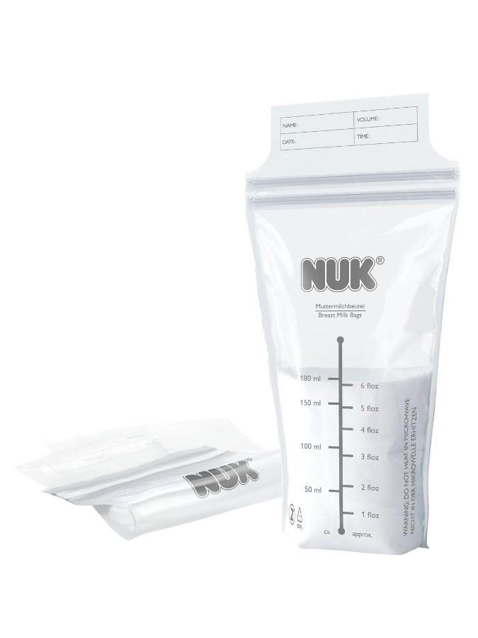 Sáčky na mateřské mléko NUK 25 ks - transparentní