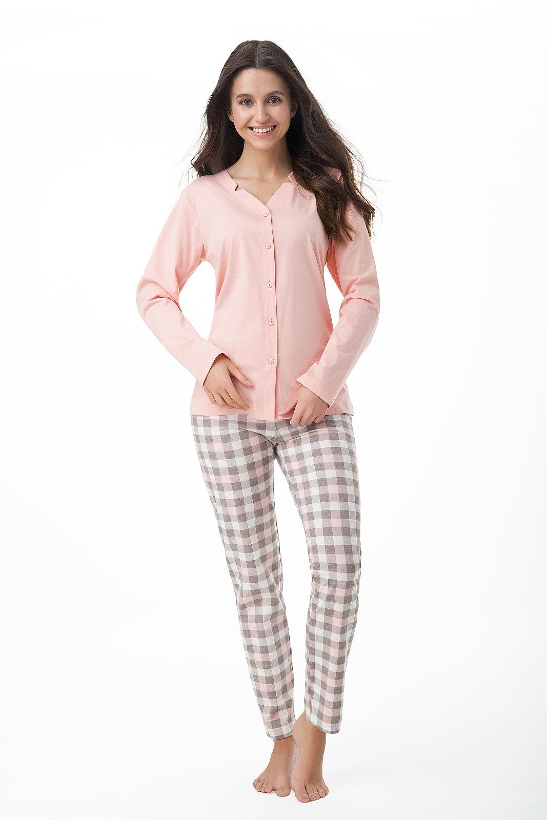 Dámské pyžamo Luna 409 M-2XL dl/r