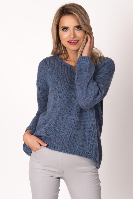 Dámský svetr Avaro SW-411 - Jeansová/UNI