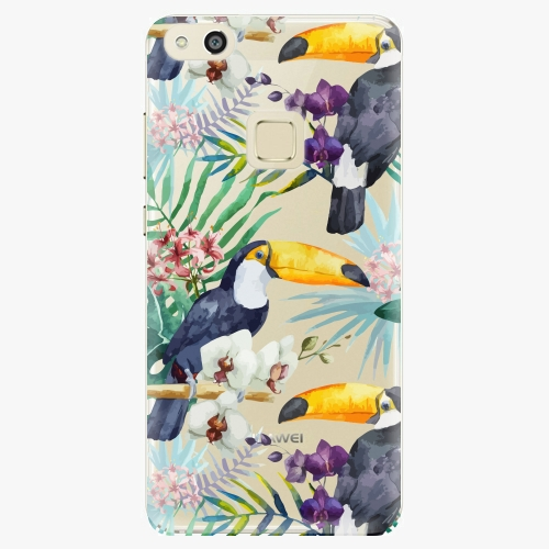 Plastový kryt iSaprio - Tucan Pattern 01 - Huawei P10 Lite