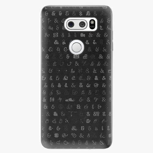 Plastový kryt iSaprio - Ampersand 01 - LG V30