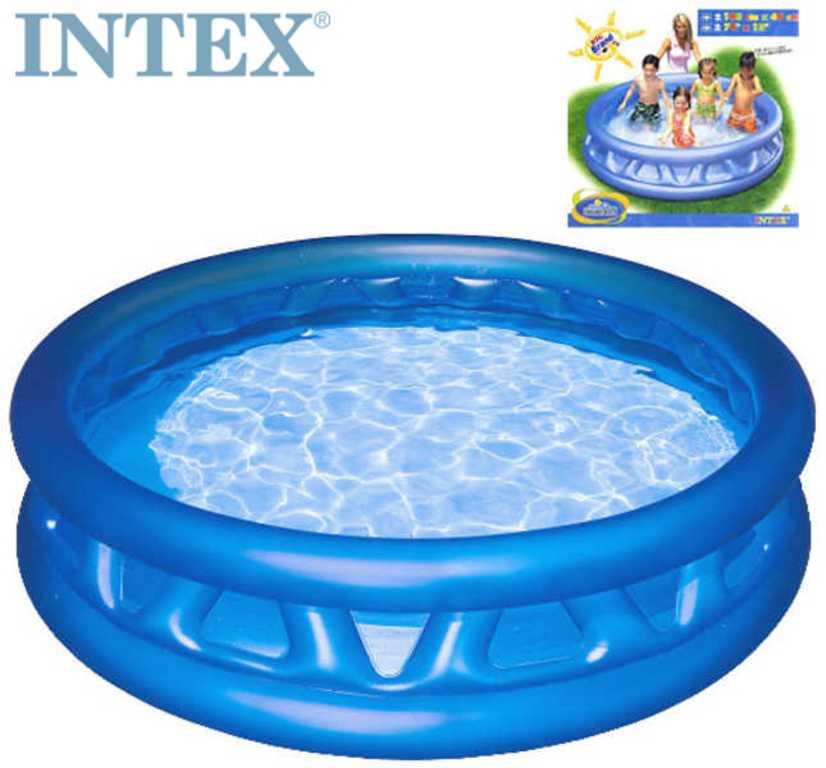 INTEX Bazén kónický 188x46cm kulatý nafukovací modrý 58431
