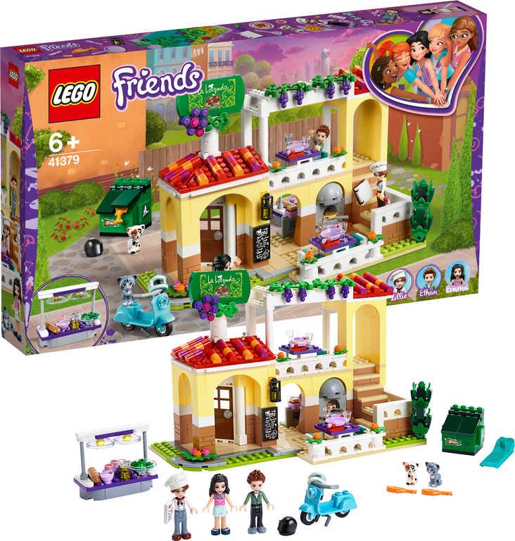LEGO FRIENDS Restaurace v městečku Heartlake 41379 STAVEBNICE