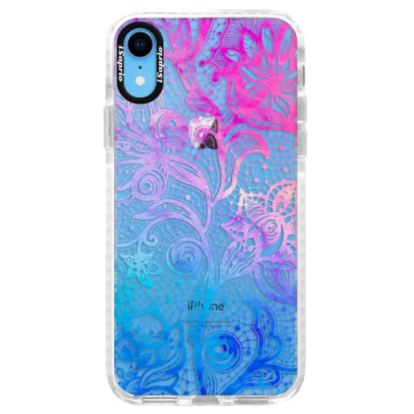 Silikonové pouzdro Bumper iSaprio - Color Lace - iPhone XR