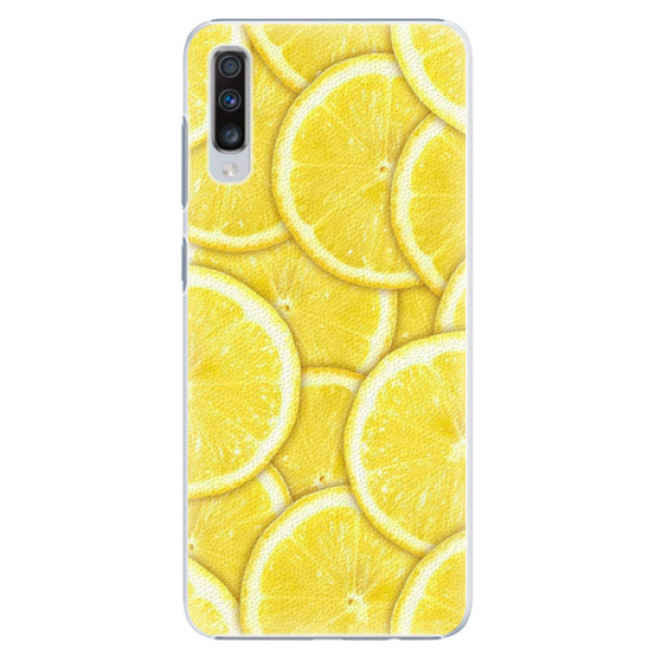 Plastové pouzdro iSaprio - Yellow - Samsung Galaxy A70