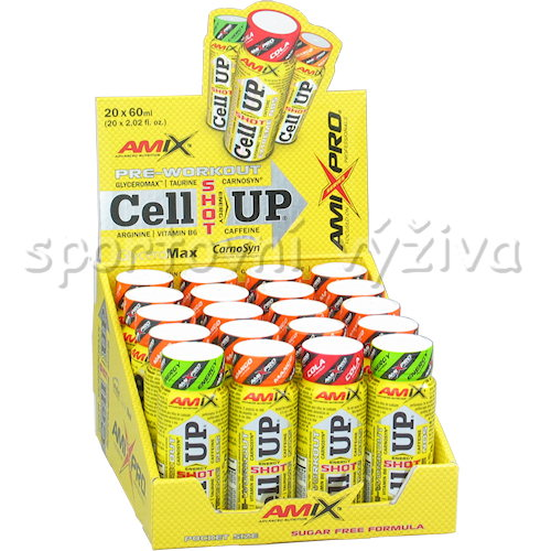 MIX CellUp Pre-Workout Shot - 20x60ml-energy