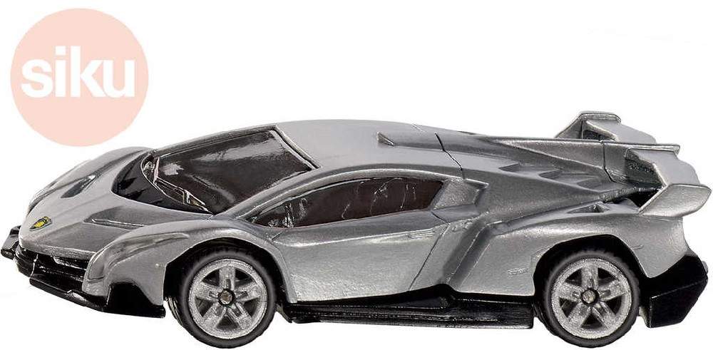 SIKU Auto Lamborghini Veneno šedá 1:50 model kov 1485