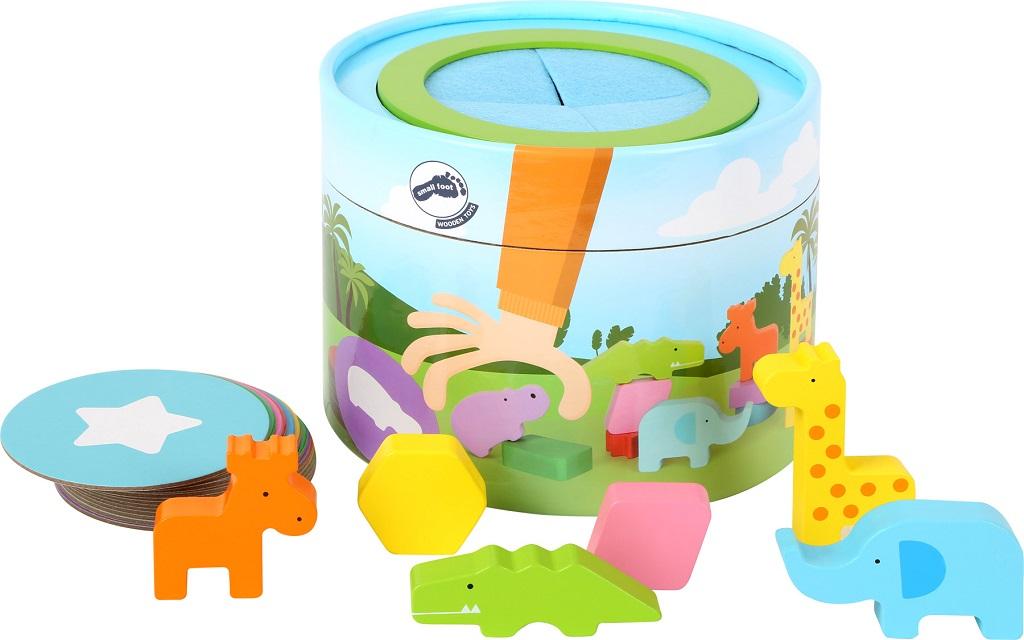 Small Foot Memo box se zvířátky