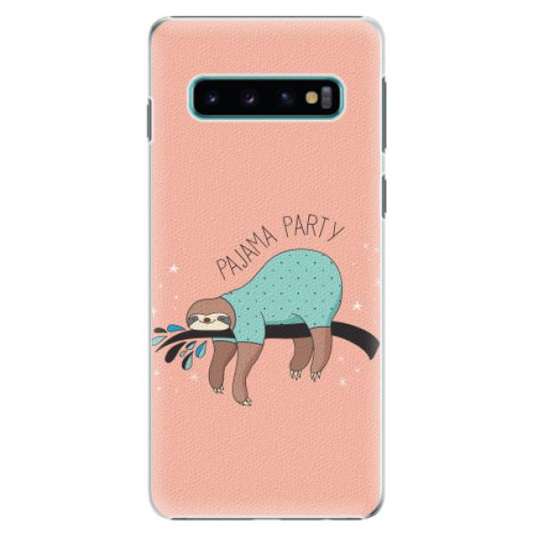Plastové pouzdro iSaprio - Pajama Party - Samsung Galaxy S10