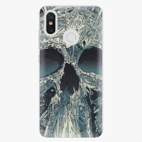Plastový kryt iSaprio - Abstract Skull - Xiaomi Mi 8
