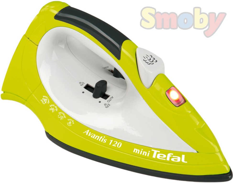SMOBY Žehlička dětská napařovací mini Tefal Avantis 120