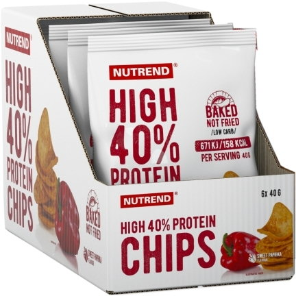 High Protein Chips 6x40g - AKCE-sweet-paprika