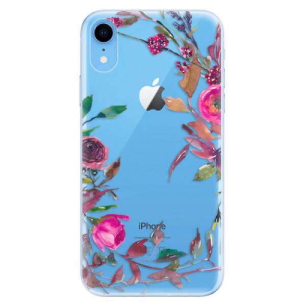 Odolné silikonové pouzdro iSaprio - Herbs 01 - iPhone XR