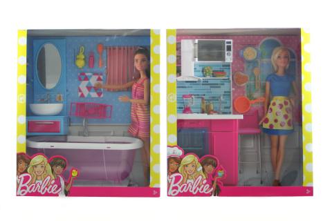 Barbie Panenka a nábytek DVX51