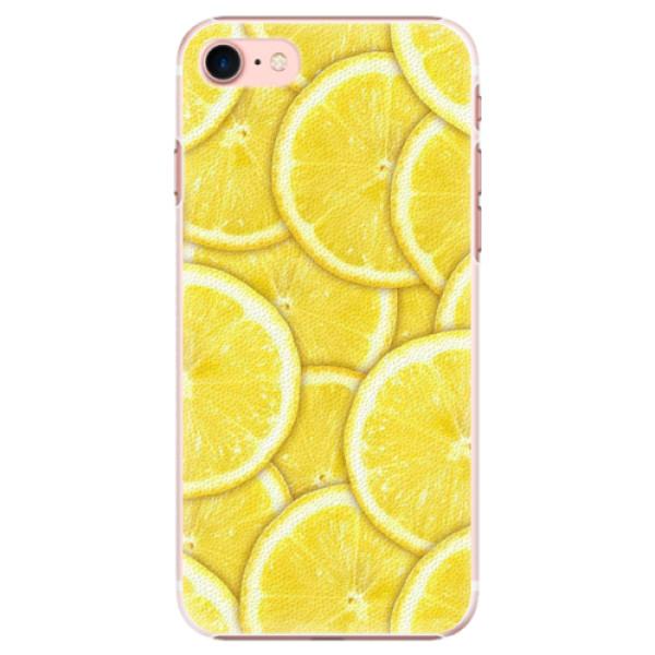 Plastové pouzdro iSaprio - Yellow - iPhone 7
