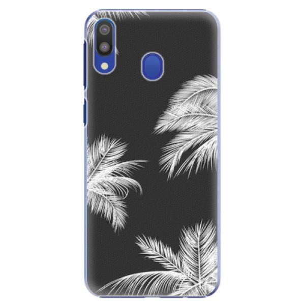 Plastové pouzdro iSaprio - White Palm - Samsung Galaxy M20