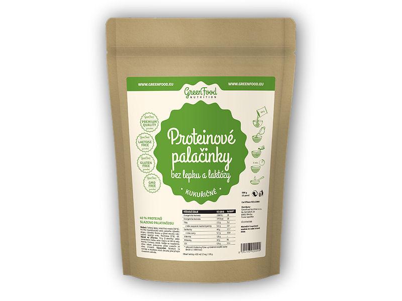 Proteinové palačinky bez lepk.lakt. 500g-kukuricne