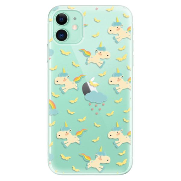Odolné silikonové pouzdro iSaprio - Unicorn pattern 01 - iPhone 11