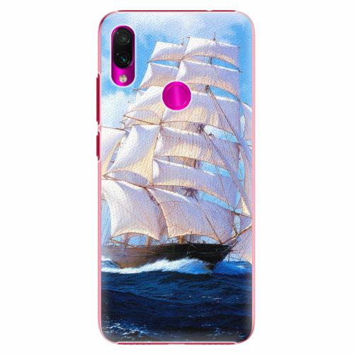 Plastový kryt iSaprio - Sailing Boat - Xiaomi Redmi Note 7