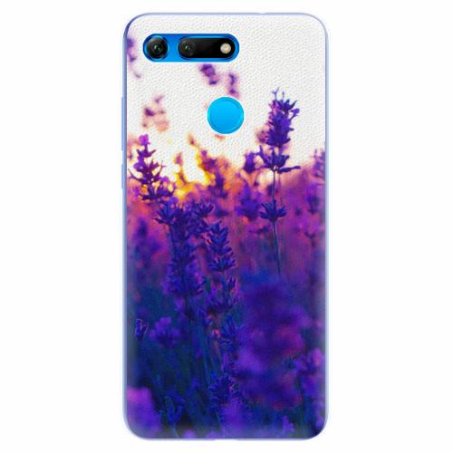 Silikonové pouzdro iSaprio - Lavender Field - Huawei Honor View 20