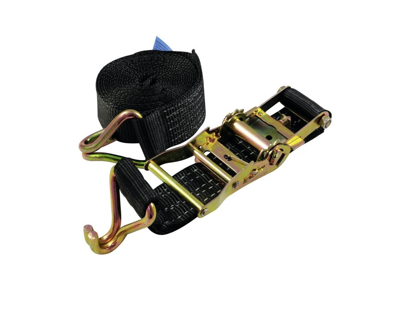 Pás vázací H800, 2 dílný s háky, 8m, černý